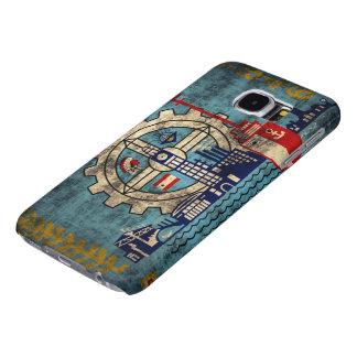 Grunge de Milwaukee Wisconsin Fundas Samsung Galaxy S6