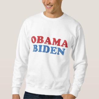 Grunge de Obama Biden Sudadera