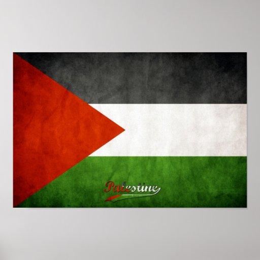 Grunge de Palestina Posters