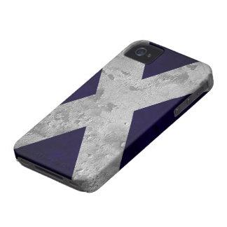 Grunge de Saltire iPhone 4 Case-Mate Fundas