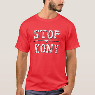 Grunge Decay STOP KONY T-Shirt