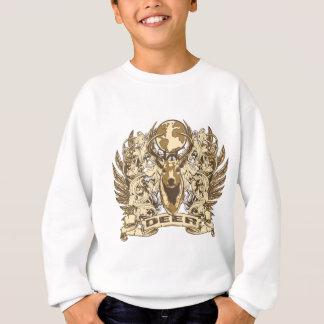 Grunge Deer Sweatshirt