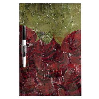 Grunge del aceite de rosas del vintage pizarras