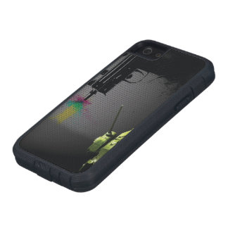 grunge del caso del iPhone 5/5s Funda Para iPhone SE/5/5s