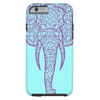 Grunge del elefante de la paz de StellaRoot Funda De iPhone 6 Tough