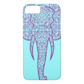 Grunge del elefante de la paz de StellaRoot Funda iPhone 7