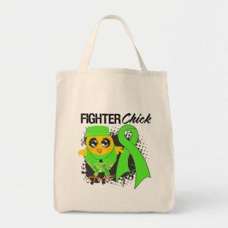 Grunge del polluelo del combatiente del cáncer del bolsas