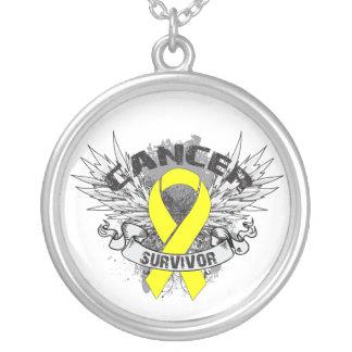 Grunge del superviviente del cáncer testicular con grimpola personalizada