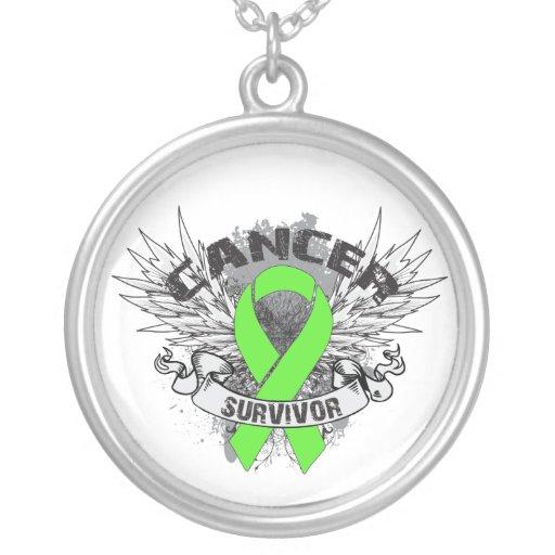 Grunge del superviviente del linfoma de collar plateado
