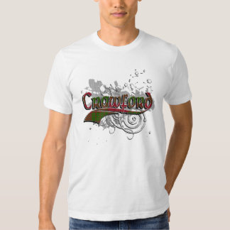 Grunge del tartán de Crawford Camisas