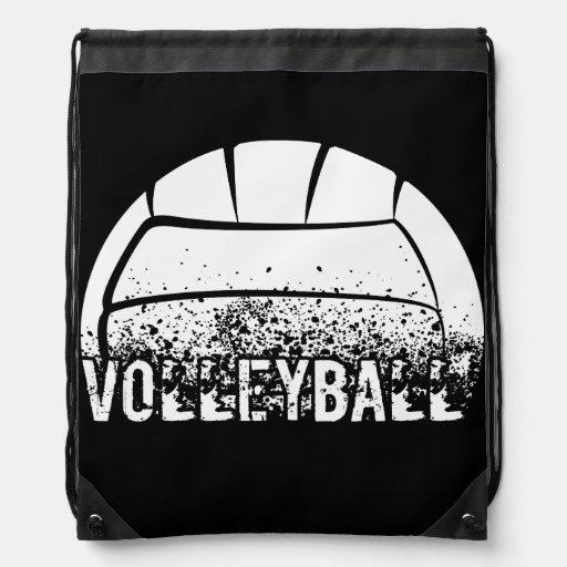 Grunge del voleibol mochilas
