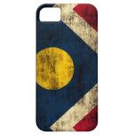 Grunge Denver Colorado Flag Cover For iPhone 5/5S