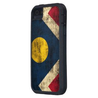 Grunge Denver Colorado Flag iPhone SE/5/5s Case