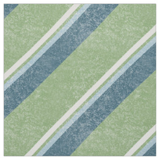 Grunge Diagonal Stripes Green GSD Fabric