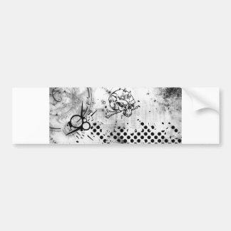 Grunge, Dirty Rage Bumper Sticker