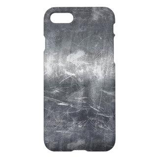 Grunge Distressed Mettalic Silver Texture iPhone 8/7 Case