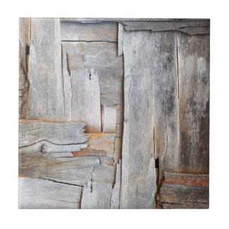 GRUNGE DISTRESSED WOOD TEXTURE.jpg Ceramic Tile