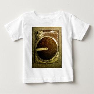 Grunge Dj Turntable Art Baby T-Shirt