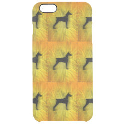 Uncommon iPhone 6 Plus Clearly™ Deflector Case with Doberman Pinscher Phone Cases design