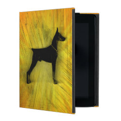Powis iCase iPad Case with Kickstand with Doberman Pinscher Phone Cases design