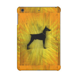 Case Savvy Glossy Finish iPad Mini Retina Case with Doberman Pinscher Phone Cases design