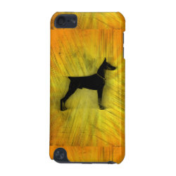 Case-Mate Barely There 5th Generation iPod Touch Case with Doberman Pinscher Phone Cases design