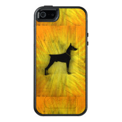 OtterBox Symmetry iPhone SE/5/5s Case with Doberman Pinscher Phone Cases design