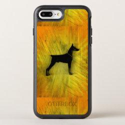 OtterBox Apple iPhone 7 Plus Symmetry Case with Doberman Pinscher Phone Cases design