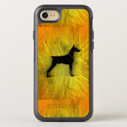 OtterBox Apple iPhone 7 Symmetry Case with Doberman Pinscher Phone Cases design