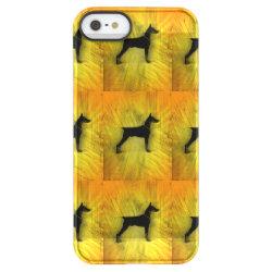 Uncommon iPhone 5/5s Permafrost® Deflector Case with Doberman Pinscher Phone Cases design