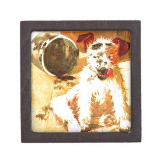 Grunge Dog Gift Box