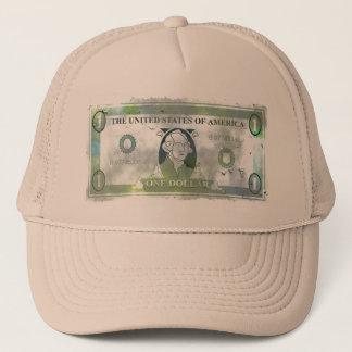 Grunge Dollar Trucker Hat