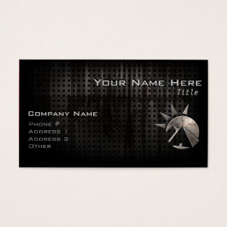 Grunge Egyptian Pyramid Business Card