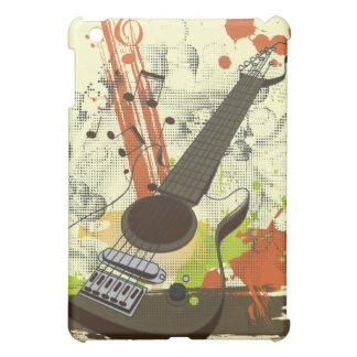 grunge electric guitar case for the iPad mini