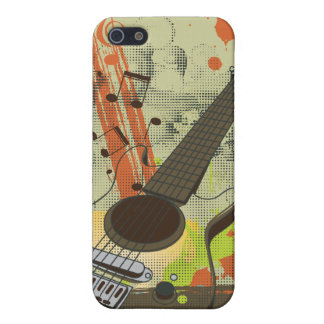 grunge electric guitar iPhone 5 covers
