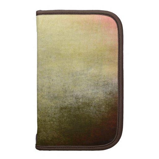 Grunge en folio de Smartphone del vintage abstract Planificadores