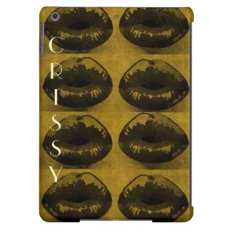 Grunge/estallido con una torsión de la caja con cl funda para iPad air