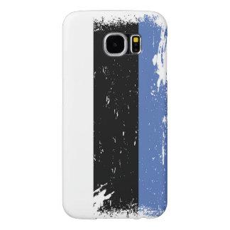 Grunge Estonia Flag Samsung Galaxy S6 Case