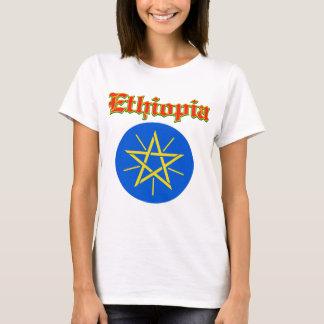 Grunge Ethiopia coat of arms designs T-Shirt