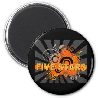 Grunge Explosion Magnet