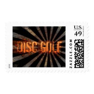 Grunge Explosion Postage Stamps