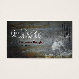 Grunge Fairy Business Card