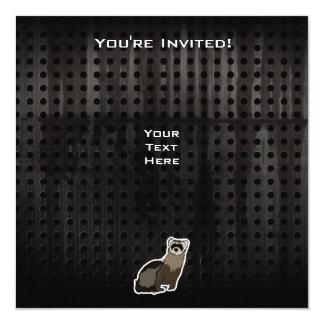 Grunge Ferret Invitation