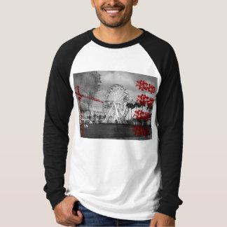 Grunge Ferris Wheel Tee Shirt