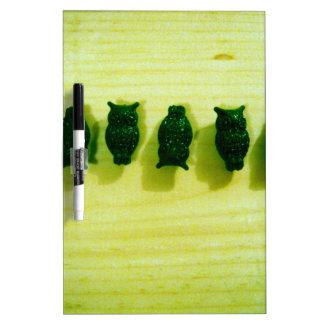 Grunge Filter Owls Dry-Erase Whiteboards