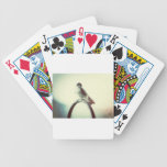 Grunge Finch Bicycle Poker Deck