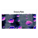 Grunge Fish, Company Name Double-Sided Standard Business Cards (Pack Of 100)
