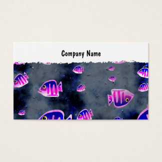 Grunge Fish, Company Name Business Card