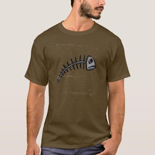 grunge fishbone T-Shirt