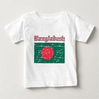Grunge Flag of Bangladesh Baby T-Shirt